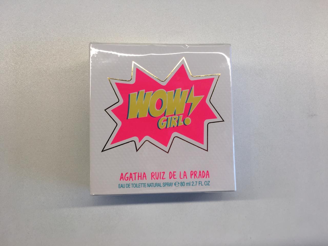 WOW Girl! de Agatha Ruiz de la Prada es una fragancia dulce para mujeres con una personalidad de una Power Girl