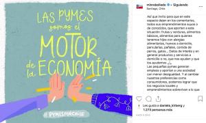 Imagen: Captura Instagram @minrebolledo