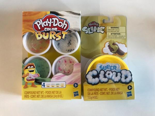 Estos set de masas y slime Play-Doh de Hasbro, son perfectos para jugar con los niiños en las tardes de verano.