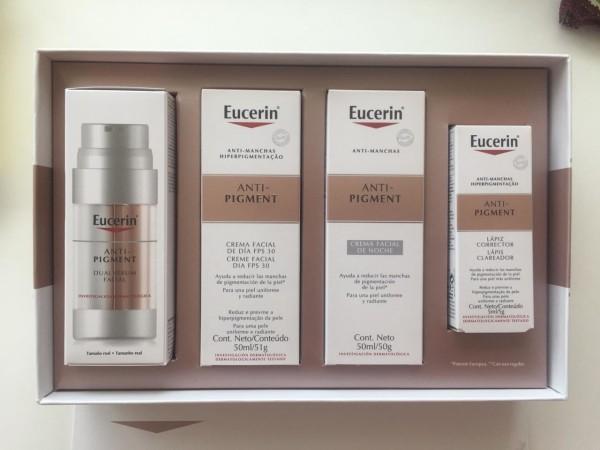 Este set de Eucerin contiene  un ingrediente clave para combatir la hiperpigmentación o manchas en la piel, generadas por la exposición al sol, cambios hormonales, factores genéticos,  acné o heridas en la piel.