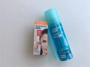 Los productos de Isdin mantendrán tu piel hidratada y potegida contra los rayos UV.